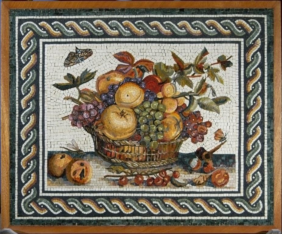 Il mosaico romano storia e tecniche di produzione for Cibi romani