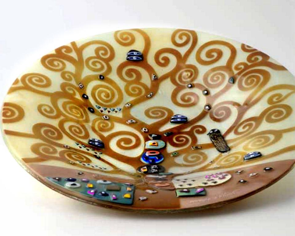 Oggetti per arredo contemporaneo studio d 39 arte vincenzo for Piatti decorati