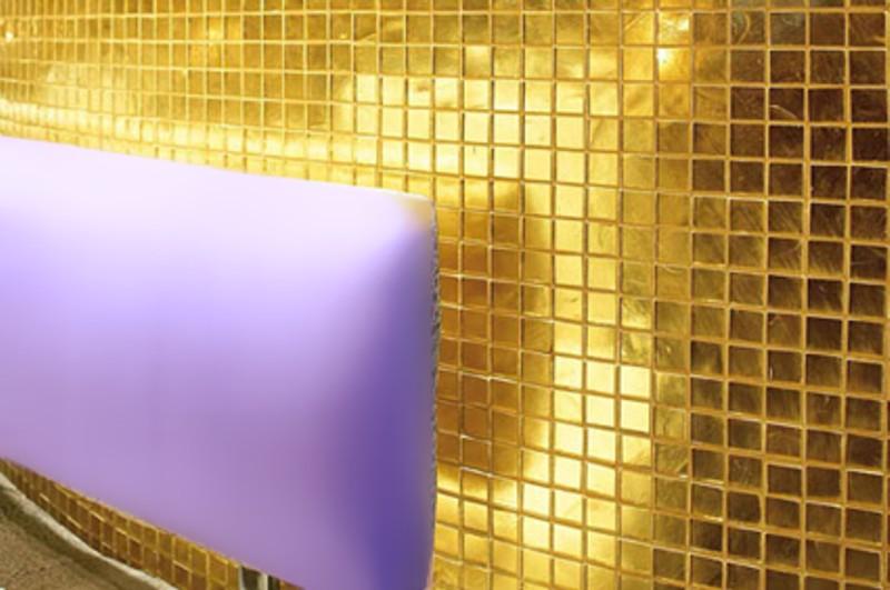 tasselli in oro cupola d oro cupola decoro in oro immagine mosaici oro ...