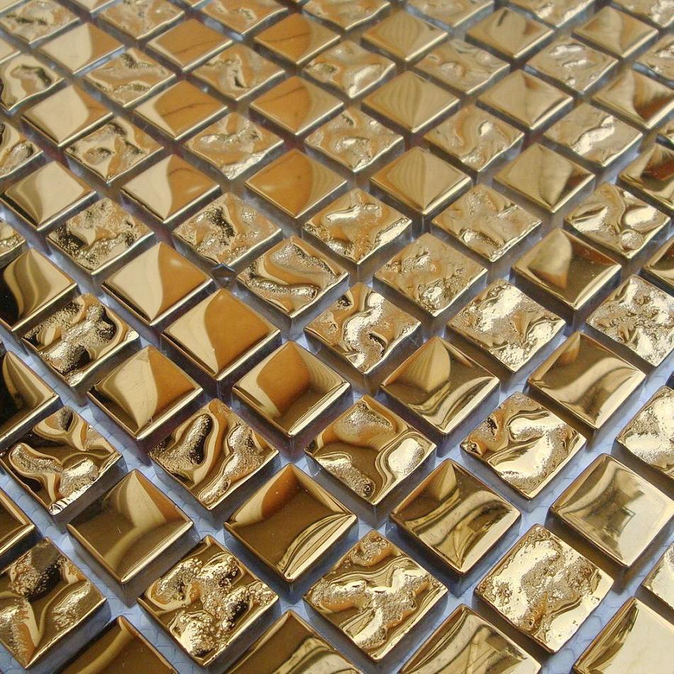 Bagno Mosaico Oro: Piastrelle mosaico in bagno (foto 20/40) design ...