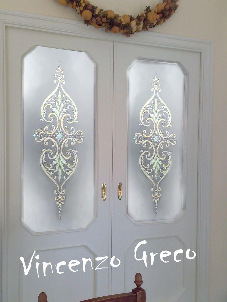 Vetrate Artistiche per interni - Porte e finestre decorate
