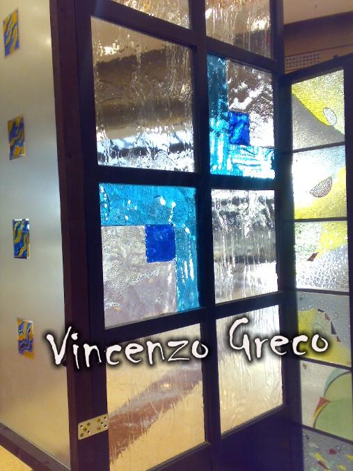 Vetrate artistiche per interni porte e finestre decorate - Separe per interni ...