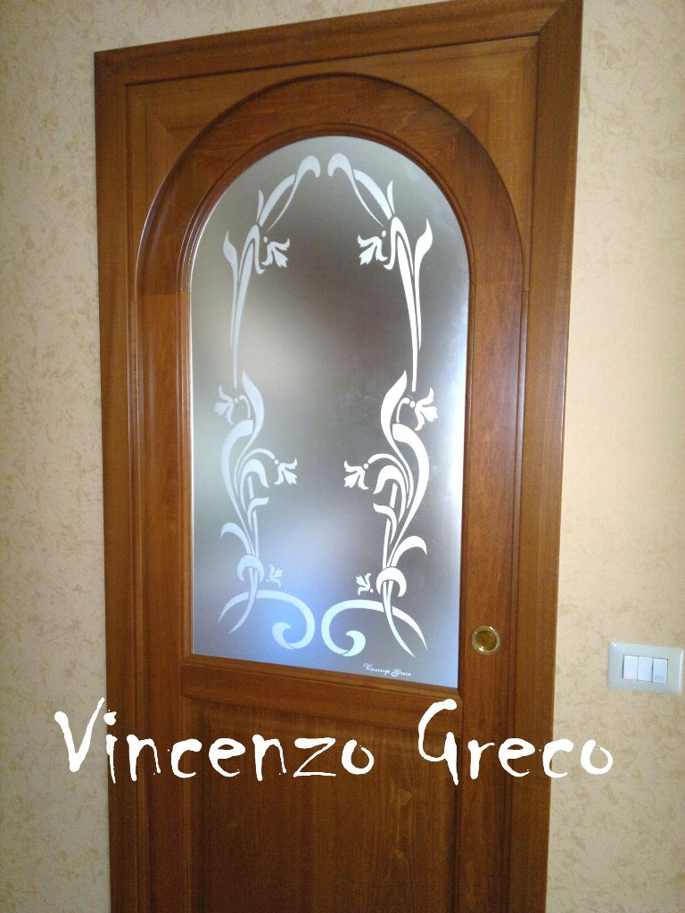 Vetrate Artistiche per interni - Porte e finestre decorate