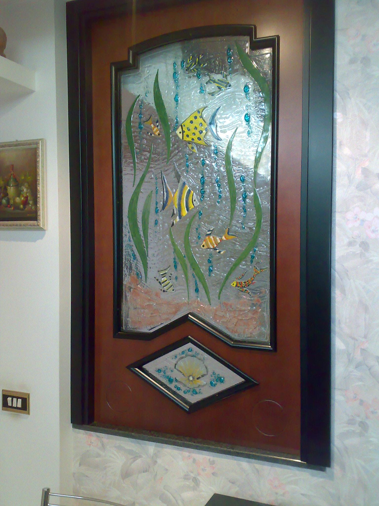 Vetrate artistiche per interni porte e finestre decorate for Corso per arredatore d interni